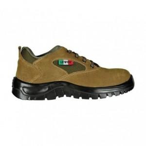 Chaussure de sécurité unisex anti-dérapante LEWER TREKKING 8297 S1P CLASSIC