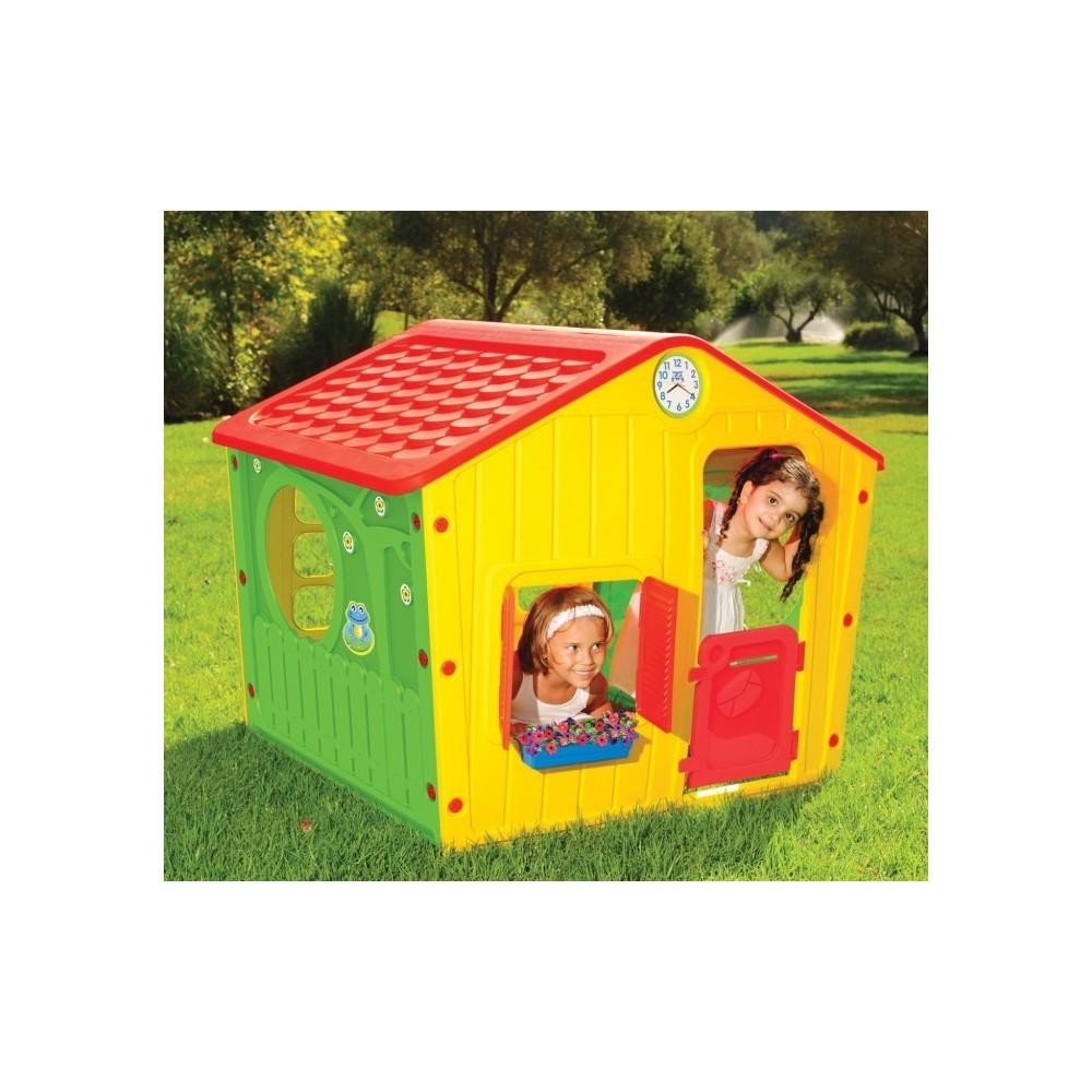 219584 maisonnette enfants en plastique galil e jardin de. Black Bedroom Furniture Sets. Home Design Ideas