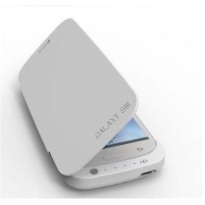 Chargeur de batterie compatible avec Samsung Galaxy S III Noir ou Blanc 3200 mAh