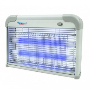 389249 DHOMTECK lampe anti-moustiques et insectes avec 2 LED 2W UV et chaine