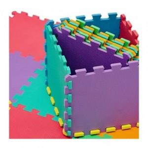 Tapis jeu de puzzle CIGIOKI modulaire eva couleur caoutchouc 20 pièces  30X30 cm