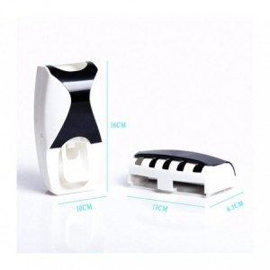 178545 Distributeur automatique SHUAI pour brosse et dentifrice diif. couleurs