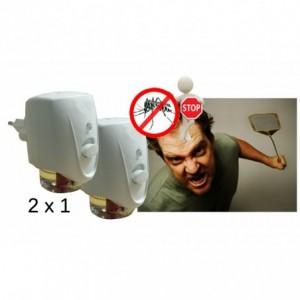 Insecticide électrique charge liquide anti-moustique x2à 28 mm