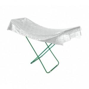 181034 Housse pour étendoir  à linge PVC transparent RILUX 200X60cm