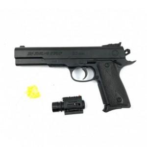 397233 Pistolet jouet CIGIOKI avec pointeur 6mm billes inclusent 45 Magnu