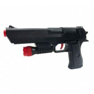 368060 Pistolet jouet CIGIOKI avec pointeur et lance cartouches