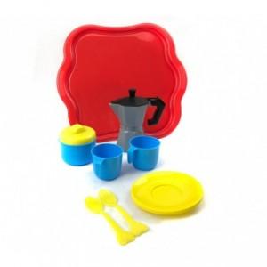 452493 Service à café pour enfants CIGIOKI avec 10 accessoires