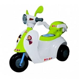 Scooter GVC-7214 SC électrique pour enfants MASHA ET L'OURS Lumières et sons
