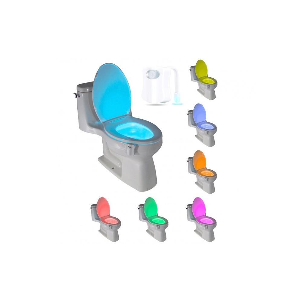 177210 Lumière LED LightBowl pour WC 8 couleurs avec capteur crépusculaire