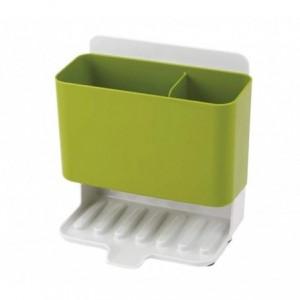 871049 Organisateur pour évier, éponge, produit vaisselle avec egouttoir