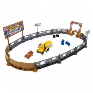 406924 Arène de jeu Playset Smash and Crash DISNEY CARS 3 + accessoires MATTEL