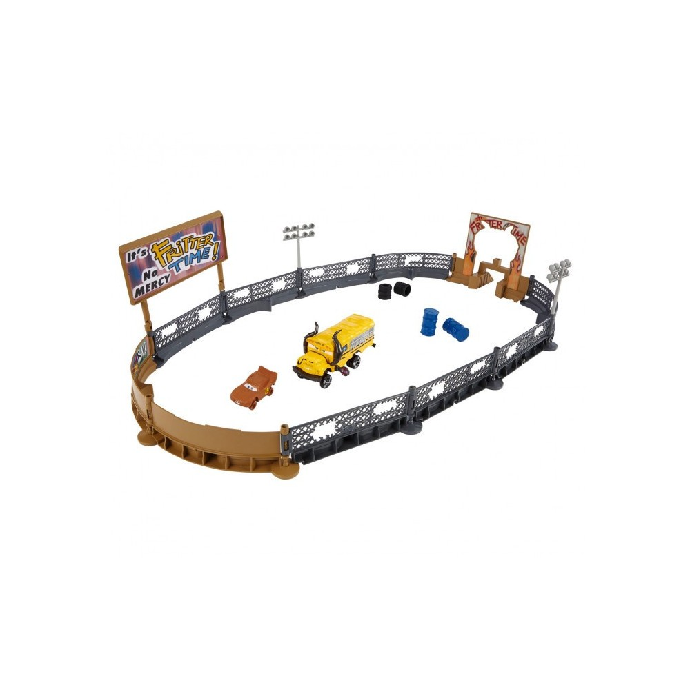 406924 Arène de jeu Playset Smash and Crash DISNEY CARS 3 + accessoires MATTEL