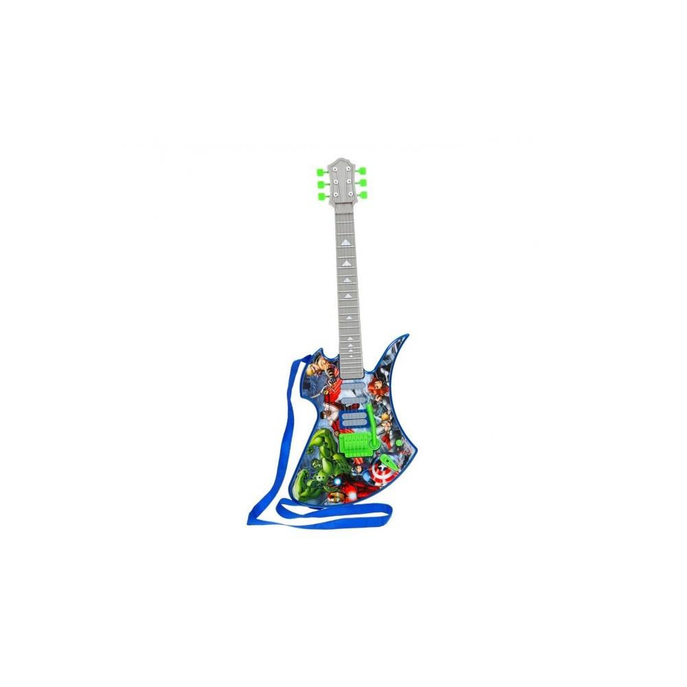 308240 Guitar Avengers Deluxe sons préenregistrés et cordes en métal SAMBRO