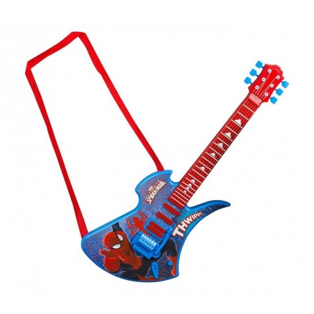 308233 Guitar Deluxe Ultimate Spiderman et cordes en métal SAMBRO