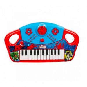 308097 Clavier SPIDERMAN 25 touches, sons préprogrammés et batterie éléctronique