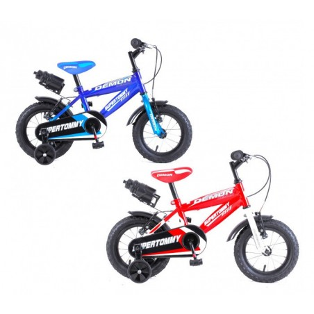 """Vélo enfant DEMON baby taille 14"""" 3-6 ans avec gourde"""