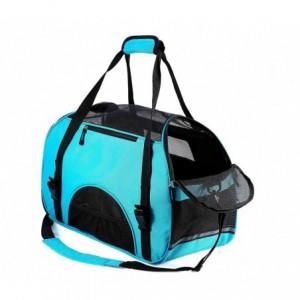 030125 Sac de transport pour animaux NOBLEZA avec prises d'air 42x20x29 cm