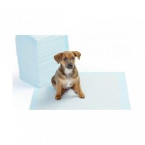 000166 Pack 8 tapis éducateur propreté pour chien 90x60cm NOBLEZA PUPPY PADS