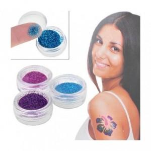 Glitter Shimmer tatouage temporaire scintillant paillettes tatouage temporaire