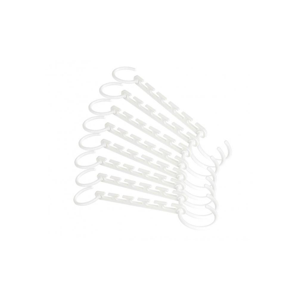 850826 Pack de 10 cintres organisateur Magic Hanger pour économie d'espace
