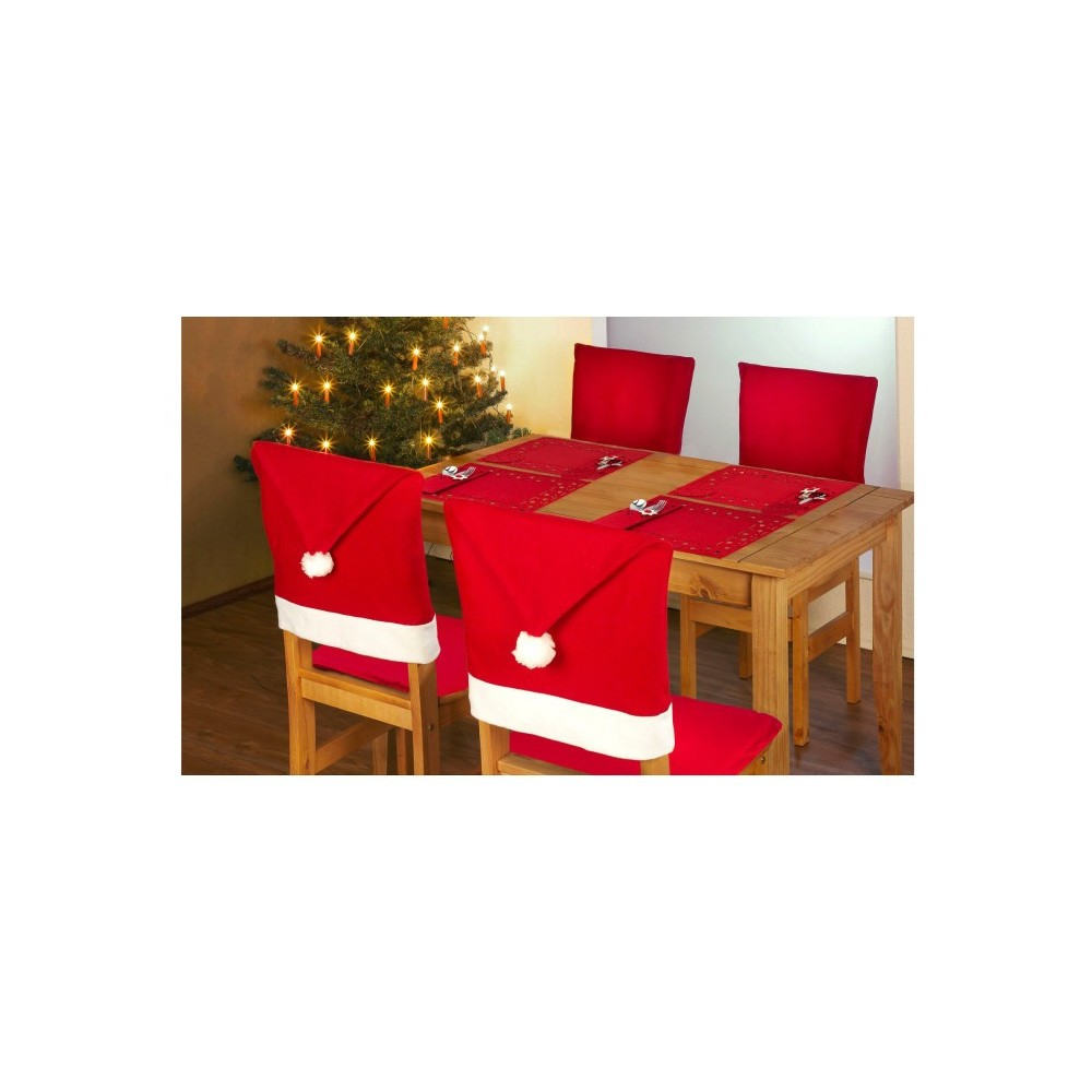 637388 Lot de 4 paquets de 7PZ pour la décoration de la table de noël