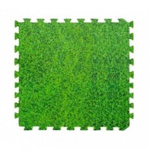 443668 Tapis puzzle EVA 4 pièces modulaires ERBETTA 60 x 60 x1cm