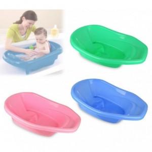 176511 Baignoire bébé ergonomique 74x44x20.5 cm pour baignoire avec fond anti-dé