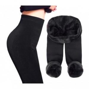 Leggings femme mod thermique. Zero Degres -noir -avec de la fourrure intérieure