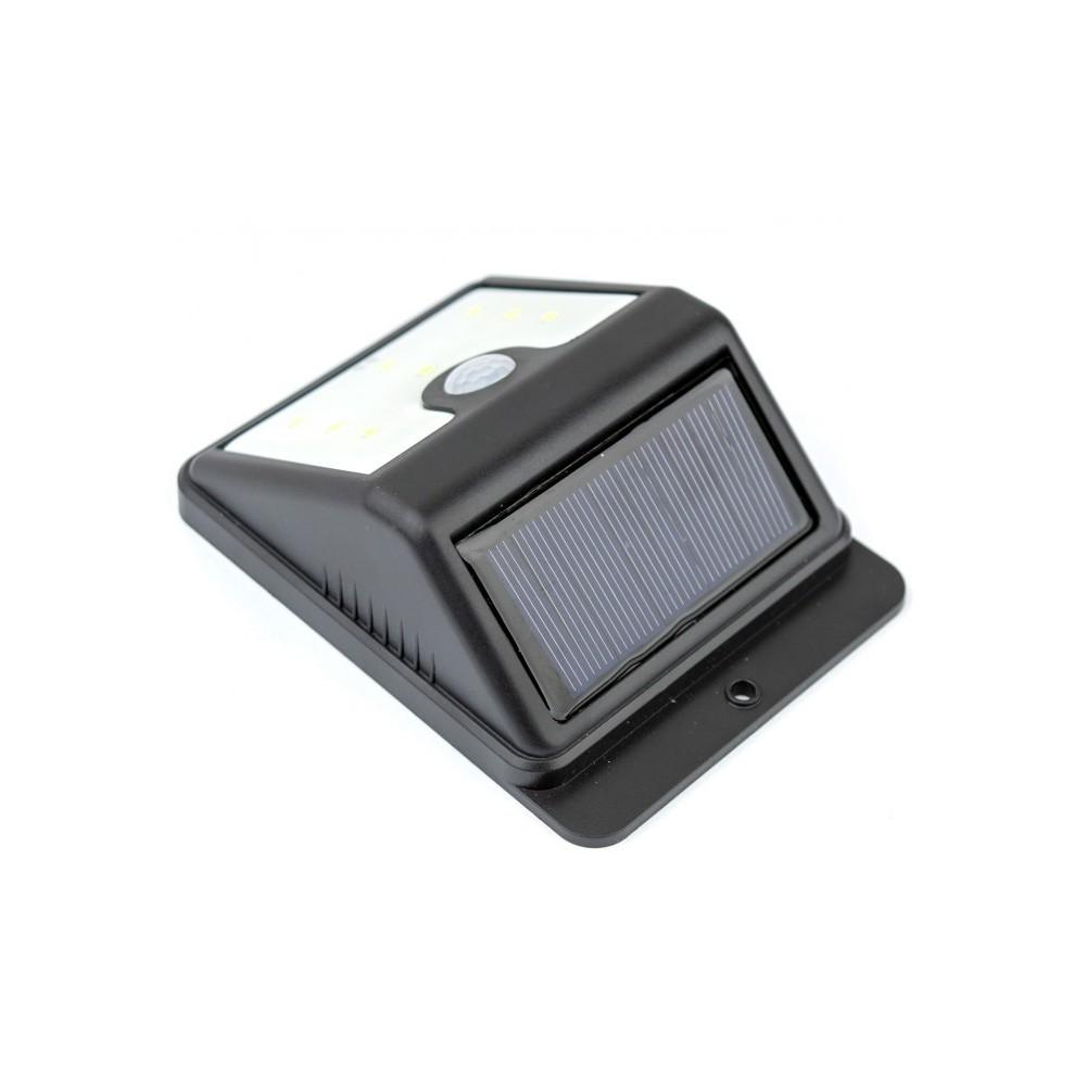 Lampe à énergie solaire 8 LED   SUPER BRIGHT capteur de mouvement et crépuscule