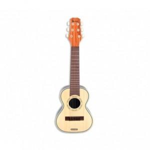 BONTEMPI 205401 guitare rock avec bandoulière hawaïenne, 6 cordes en nylon