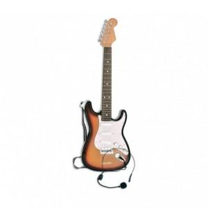 BONTEMPI 207015 Guitare classique pour enfants, cordes en nylon et plectre