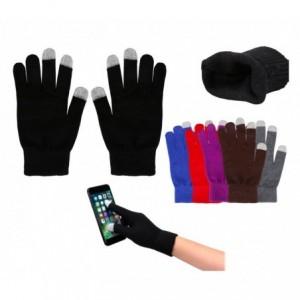 Gants pour écran tactiles, taille unique