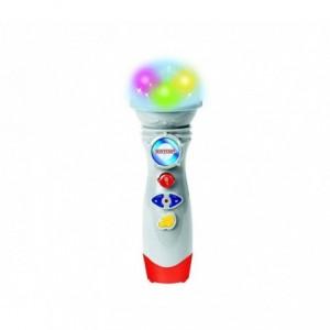 BONTEMPI 401709 Microphone de scène avec mélodies et effets de lumiéres