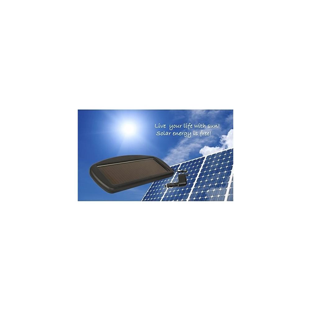 panneau solaire pour recharger la batterie de voiture 12v 1 5w. Black Bedroom Furniture Sets. Home Design Ideas