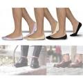 Pack 12 paires de chaussettes - mod. Pikis - invisibles pour l'homme et la femme