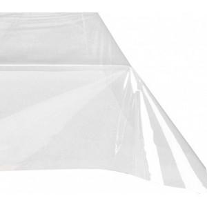302996 Nappe rectangulaire toile cirée PVC 140x275 cm imperméable transparente