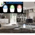 Lampe de table RGB - 7 LED - thérapie de couleur et effet décoratif - GRUNDIG