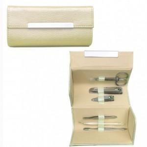 Set de 6 piezas para la manicura y pedicura en cómodo estuche de transporte