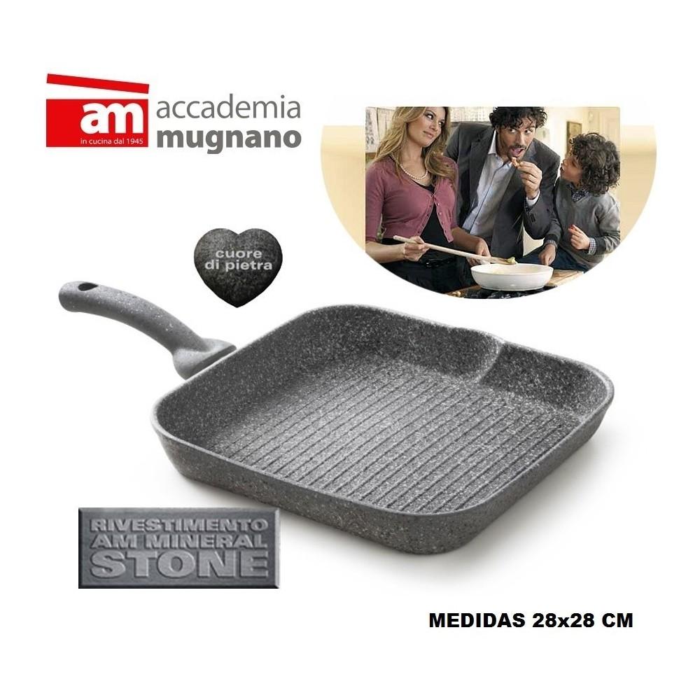 Plancha 28x28 cm revestimiento con efecto piedra revestimiento - Accademia Mugnano CUORE DI PIETRA