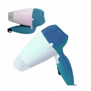 Secador de pelo plegable para viaje con 2 velocidades y potencia de 850W - DHOMTECK SYSTEM