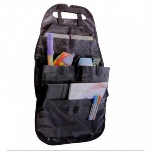 Organizador para el asiento trasero del coche con 4 bolsillos 41 X 69 cm con velcro y tela impermeable – LIFETIME