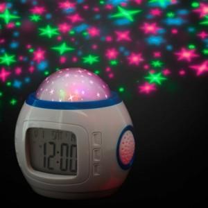Réveil projection numérique LCD avec date et la température -projecteur d'étoile