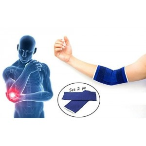 X2 Codera para el dolor / lesión AZUL