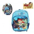 4062351 - Sac à dos Jake le pirate - Cartable scolaire Disney Junior -27x38x14cm