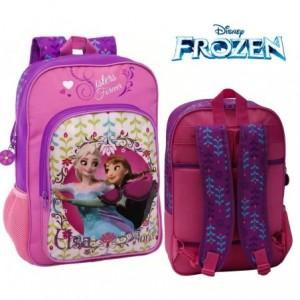 Mochila infantil escolar con motivo de FROZEN  princesas Elsa y Anna  Disney  30 x 40 x 16 cm 4192351