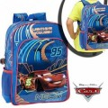 Sac à dos CARS- Mc Queen - Cartable scolaire Disney Junior - 30 x 40 x 16 cm