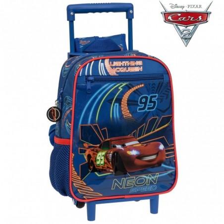 Sac à dos CARS- Mc Queen - Cartable scolaire Disney Junior - 23 x 28 x 10 cm
