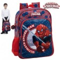 Sac á dos - cartable - SPIDERMAN - 30 x 40 x 16 CM- Bleu - MARVEL