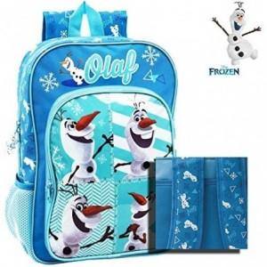 Mochila infantil escolar con RUEDECITAS con motivo de OLAF DE FROZEN 23 x 28 x 10 cm - Disney 4342751
