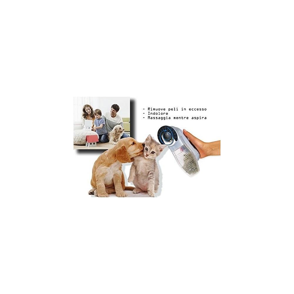 aspirateur 2 en 1 limine l 39 exc s de poils chien chat shed. Black Bedroom Furniture Sets. Home Design Ideas